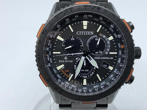 買い物 中古 CITIZEN シチズン エコドライブ E660 ソーラー 腕時計 完売