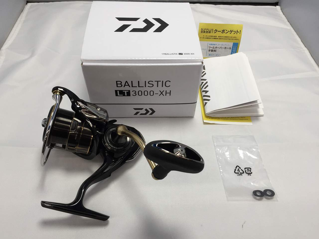 △△【中古】ダイワ Daiwa 19バリスティック LT3000-XH BALLISTIC