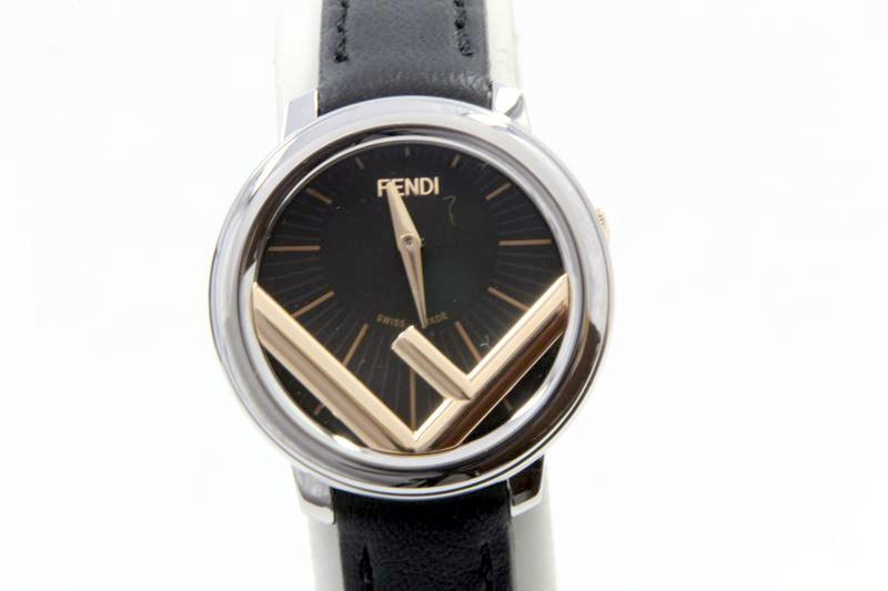 $$【中古】フェンディ FENDI レディスクオーツ腕時計 005-71000S-632 美品