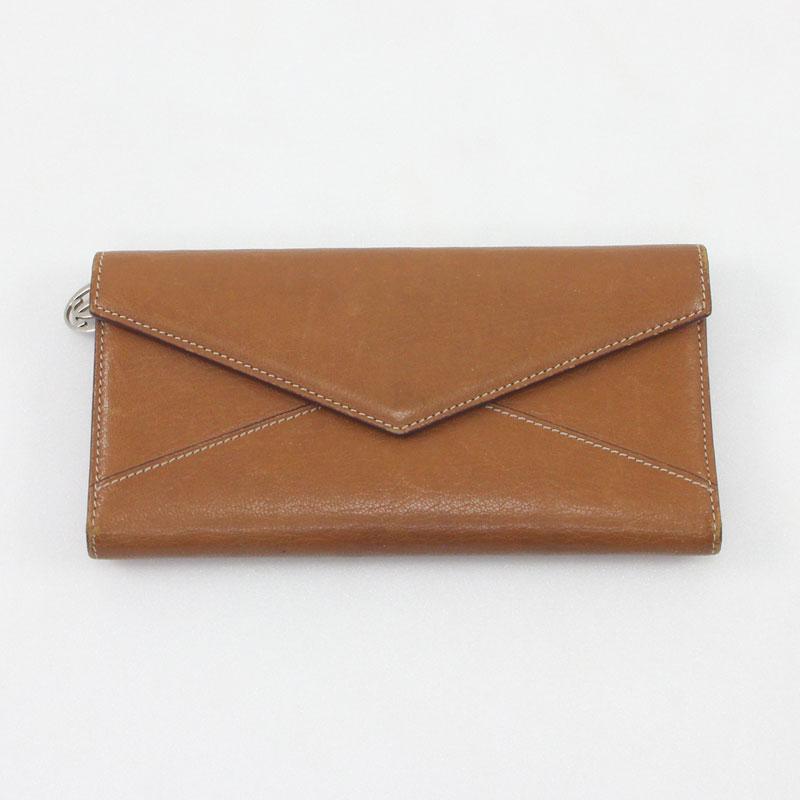 $$【中古】 Cartier カルティエ レ・マスト 長財布