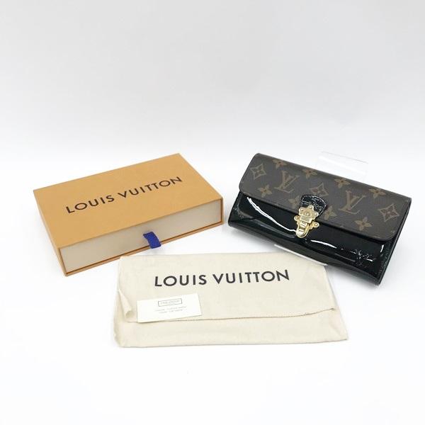 〇〇 中古 ルイ ヴィトン Louis Vuitton 卓出 ノワール M62558 チープ チェリーウッド ポルトフォイユ