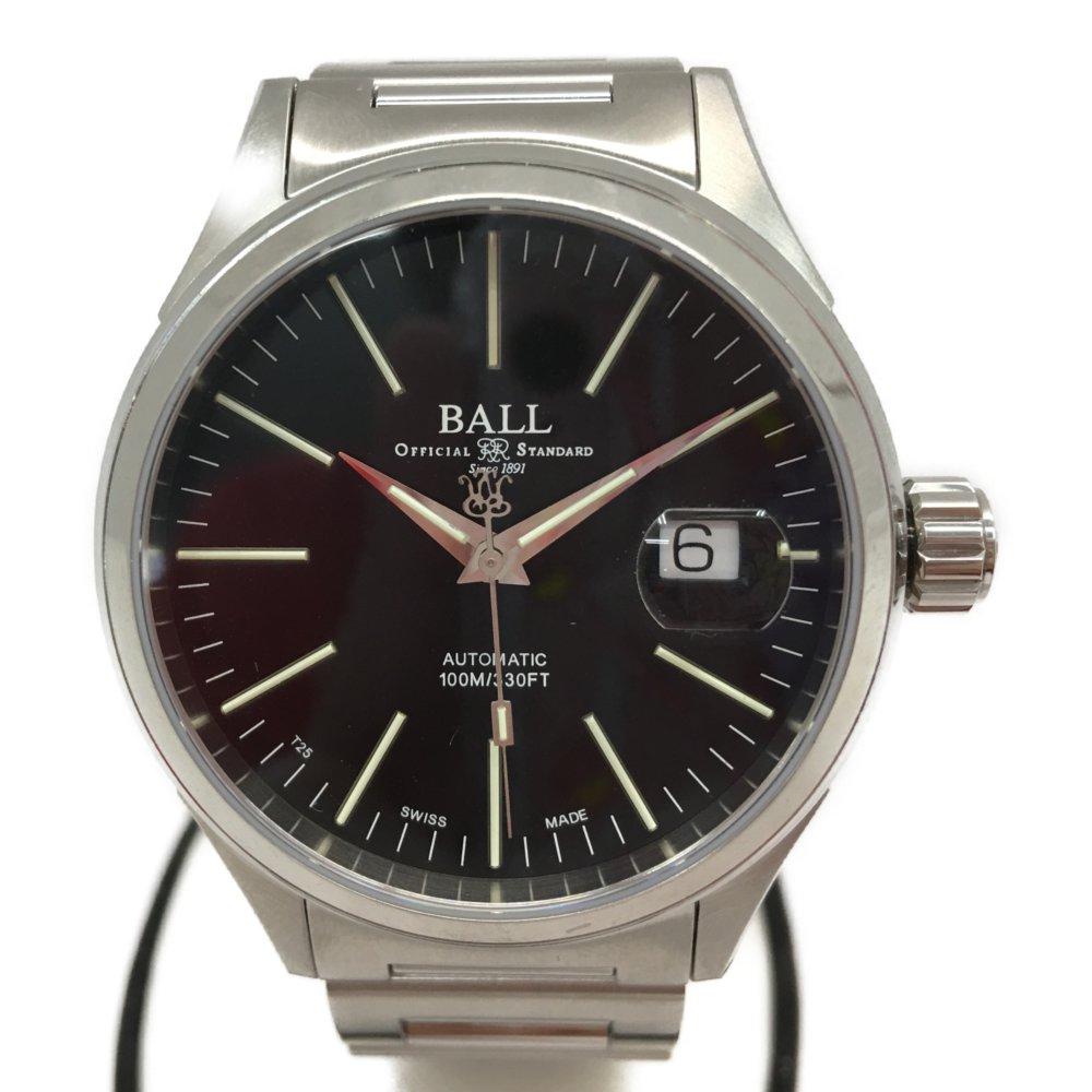 中古 送料無料お手入れ要らず BALL WATCH ボールウォッチ メンズ腕時計 NM2188C-S5J-BK 本体のみ ストークマン 初売り 自動巻き エンタープライズ