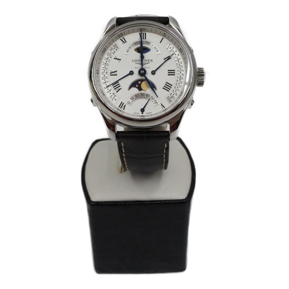 中古 腕時計 LONGINES レトログラード 箱 流行のアイテム ケース付 L2.738.4 2020
