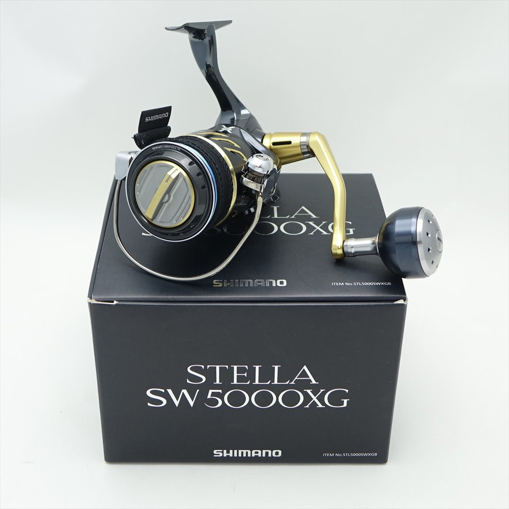 <title>中古 SHIMANO シマノ 13ステラ 定番から日本未入荷 SW5000XG スピニングリール 箱 袋付き</title>