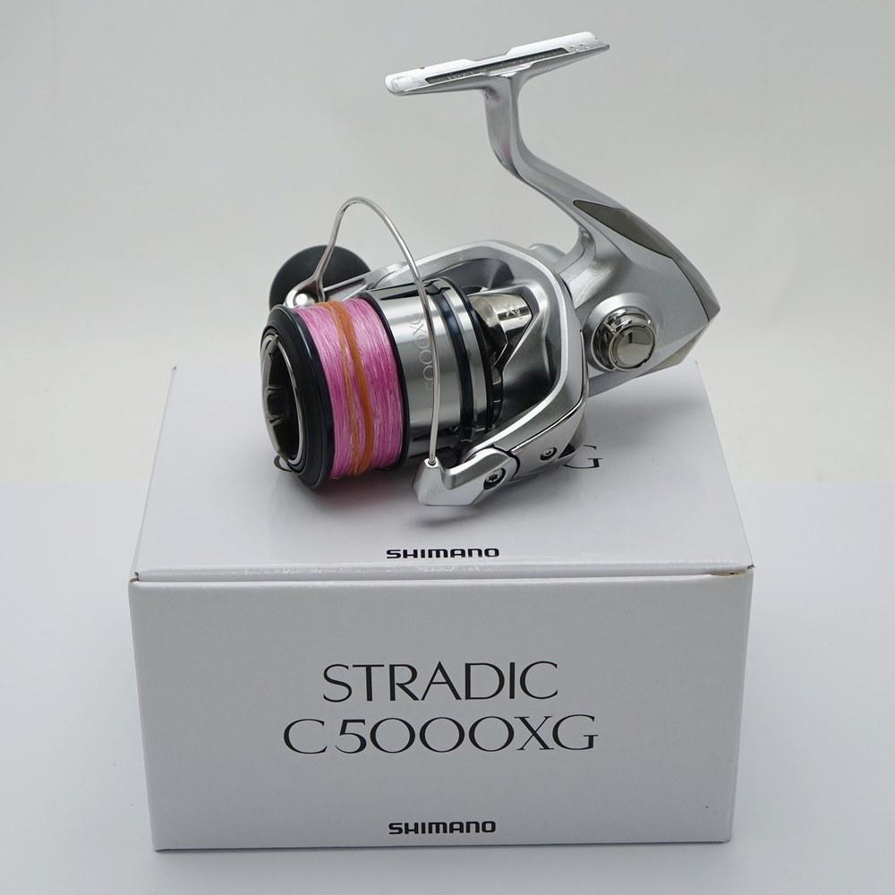 人気激安 中古 公式ショップ SHIMANO シマノ STRADIC スピニングリール C5000XG 箱付き