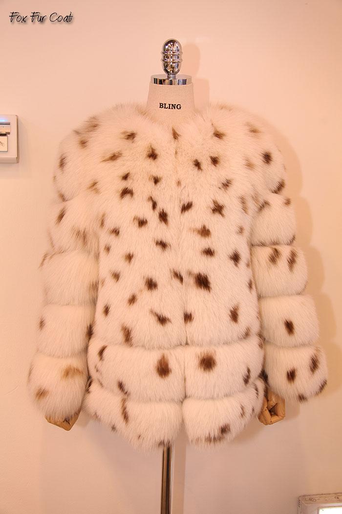 【OFF Price】フォックスファー3フックジャケット 毛皮コート ファーコート レディース