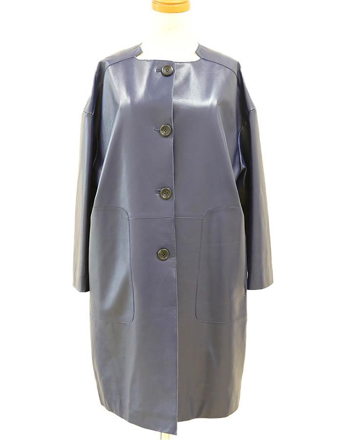 ラムレザー コート