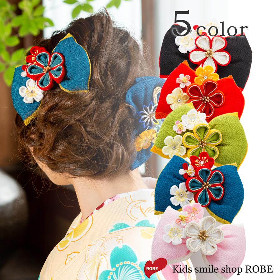 袴リボン 髪飾り