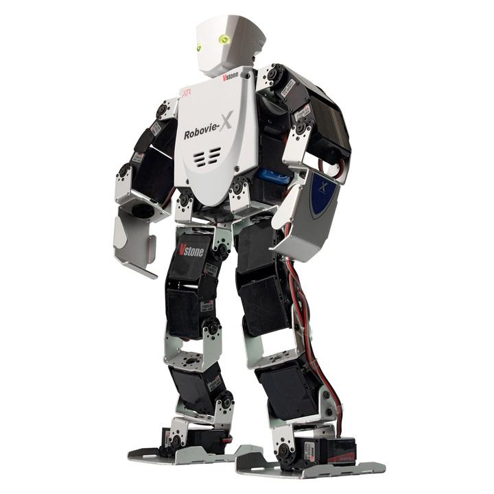 二足歩行ロボット Robovie-X (組み立てキット版) アカデミックセット [ラジコン] 【プレゼント包装可】