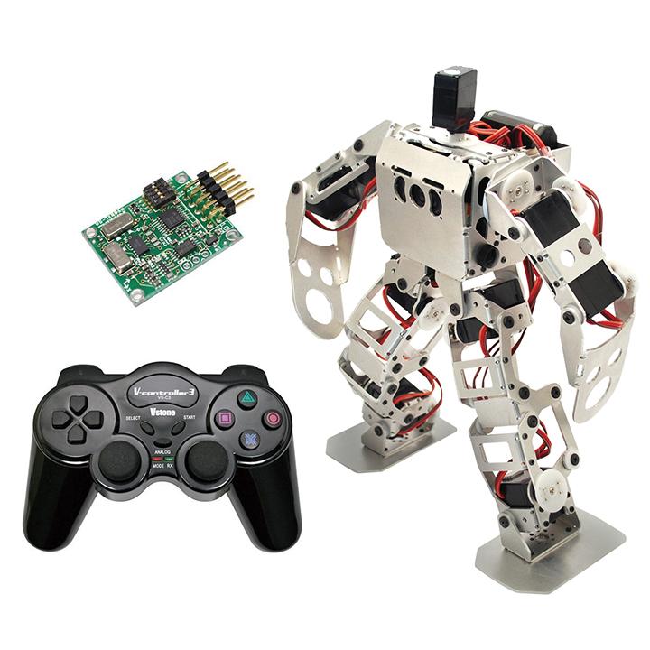 (セット) 二足歩行ロボット Robovie-nano (組み立てキット版) スペシャルセット [ラジコン] 【プレゼント包装可】