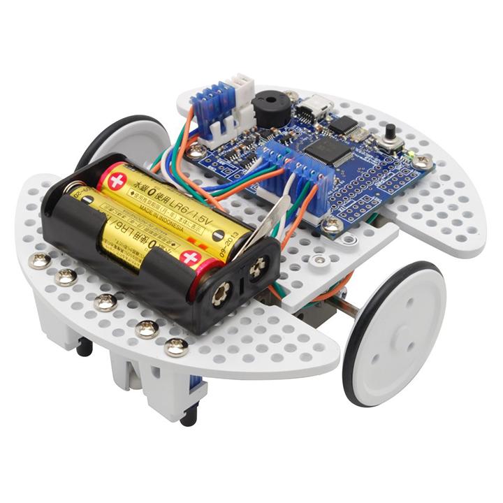 プログラミング教室向け プログラミング教育用ロボット AL完売しました。 ビュートローバー H8 学習教材 ヴイストン Vstone 激安卸販売新品 組立完成版