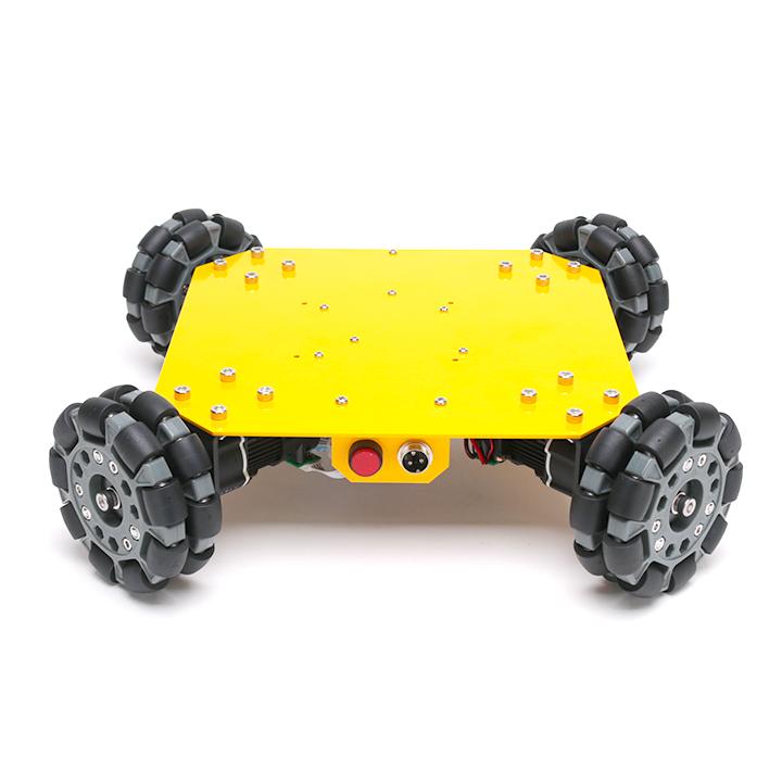 4WD100mmオムニホイールモバイルロボット (10008)[台車ロボット・研究開発] 【NEXUS robot】