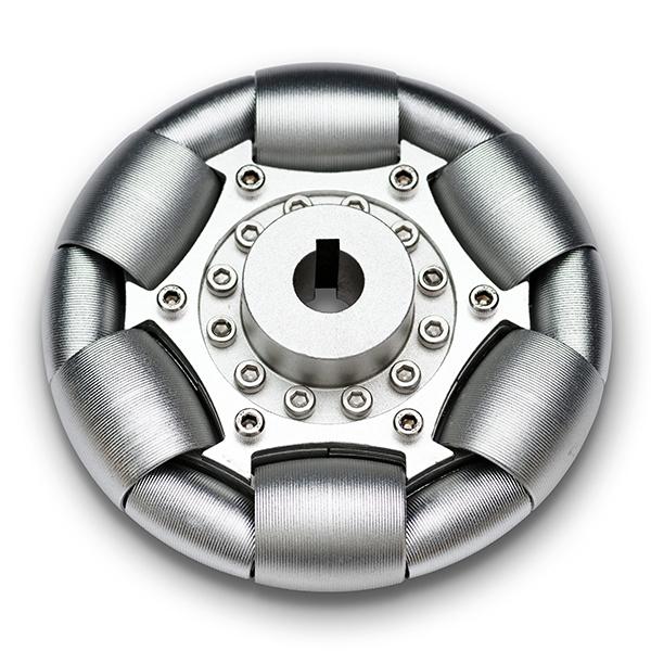 なめらかオムニホイール(Φ100mm)アルミ製 [車輪・ホイール], サケガワムラ:2231c236 --- officewill.xsrv.jp