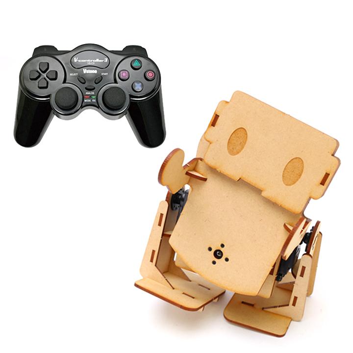 本格ロボット用CPUボード搭載 二足歩行ロボット Robovie-i Ver.2 コントローラセット [入門キット] 【プレゼント包装可】 【プレゼント】 【ギフト】