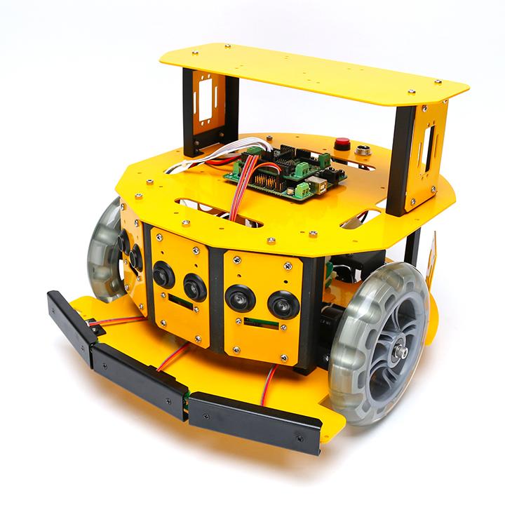 2WDモバイルロボット (10004) [移動台車ロボット] 【NEXUS robot】