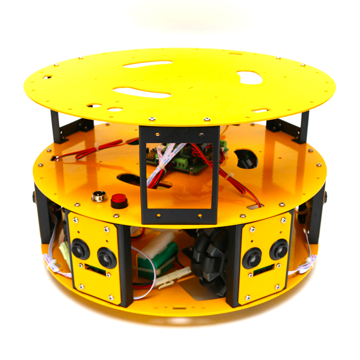 3WDオムニホイールロボット(円形タイプ) (10006)[台車ロボット・研究開発] 【NEXUS robot】