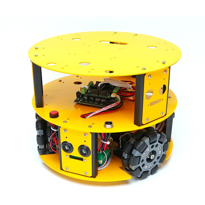 3WD100mmオムニホイールロボット (10013) [全方向移動台車] 【NEXUS robot】
