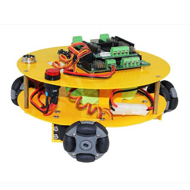3WD48mmオムニホイールロボット (10014) (10014) robot】 [全方向移動台車]【NEXUS robot】, 湖東町:198ca878 --- officewill.xsrv.jp