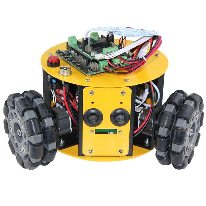 3WD100mmオムニホイールミニモバイルロボット (10016) [全方向移動台車] 【NEXUS robot】