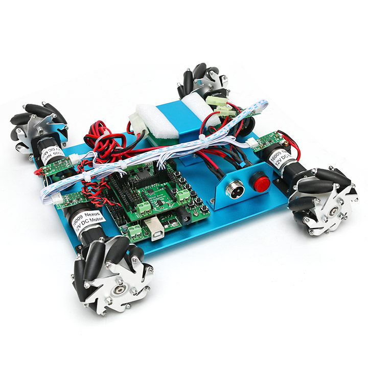 4WD 60mmメカナムホイールロボット(10021) 【NEXUS robot】