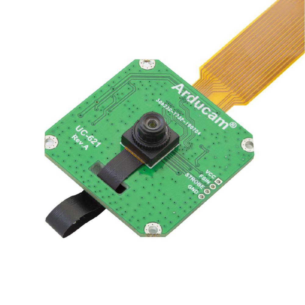 ArduCam Raspberry Pi用 2MPグローバルシャッタ OV2311 モノクロカメラモジュール