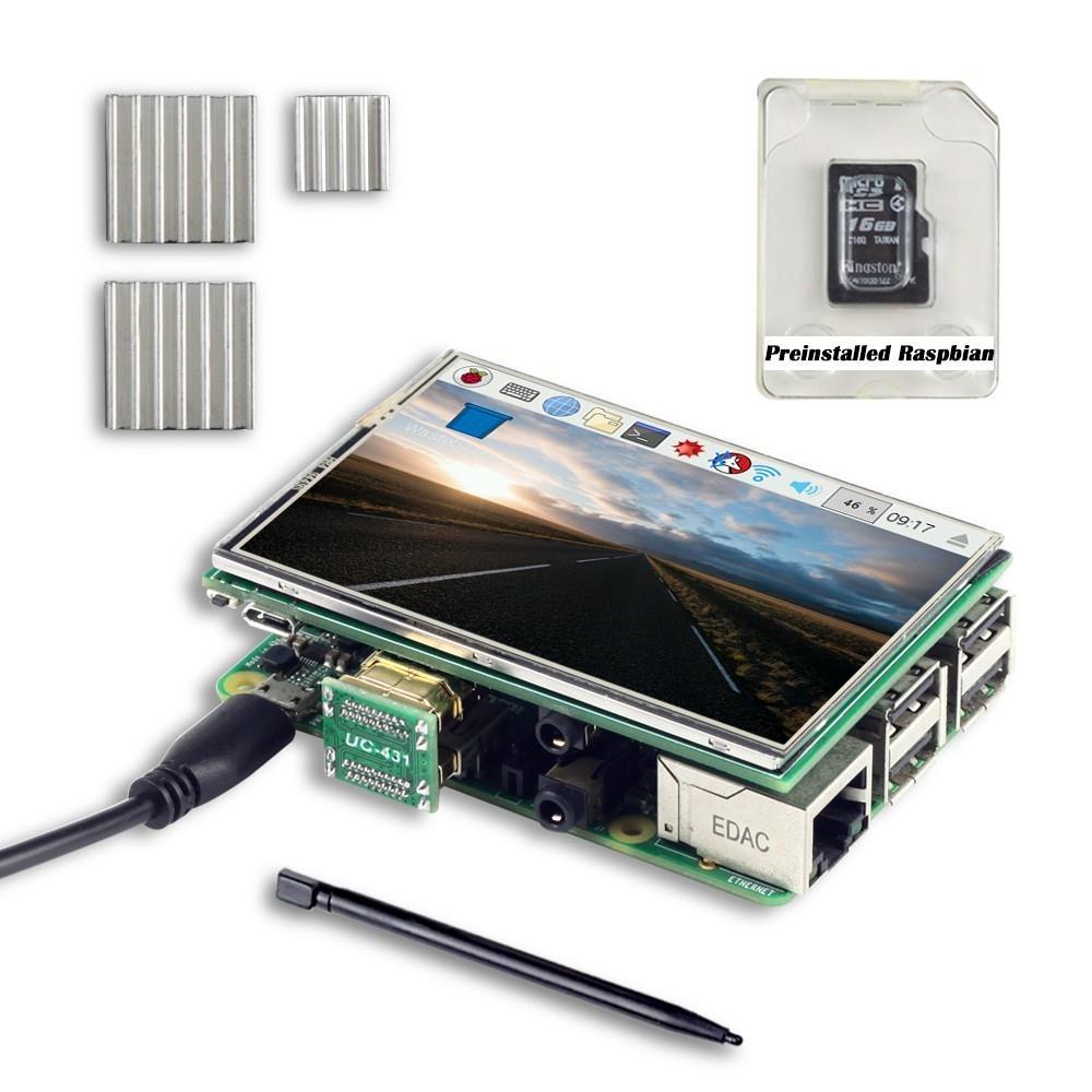 UCTRONICS3.5インチTFT液晶タッチスクリーン(ラズベリーパイ用ペン&SDカード付き)