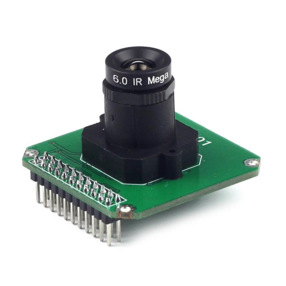 ArduCAM MT9M001 1.3Mp HD CMOSモノクロカメラモジュール(M12マウント付き)