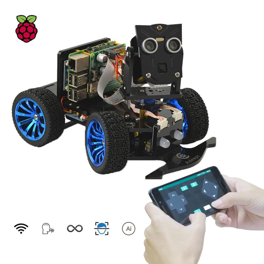 Raspberry Pi用Adeept Mars Rover PiCar-B WiFiスマートカーキット