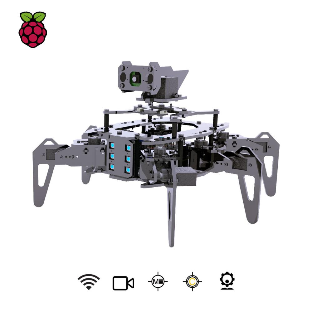 Raspberry Pi用Adeept RaspClawsヘキサポッドスパイダーロボットキット