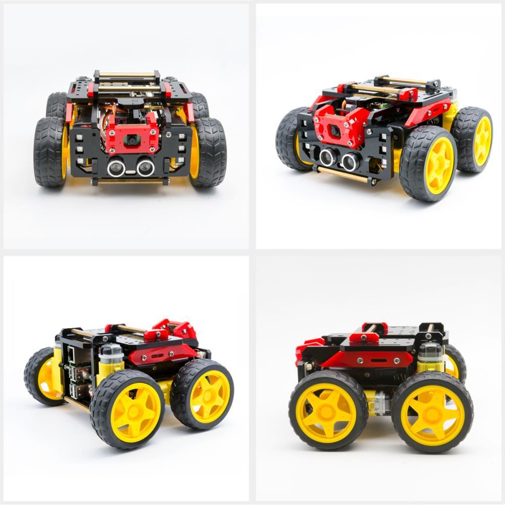 Raspberry Pi用Adeept AWR 4WD WiFiスマートロボットカーキット