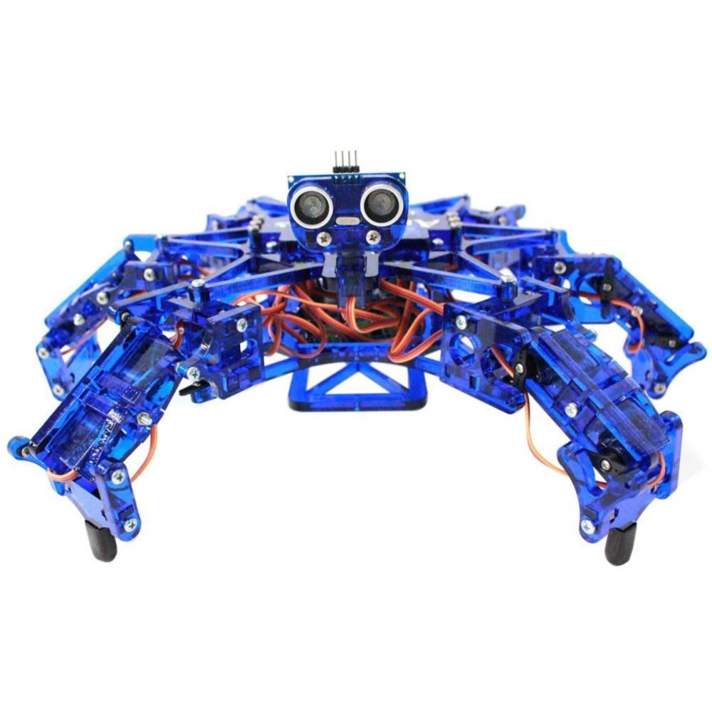 6脚ロボット Hexy - ブルー