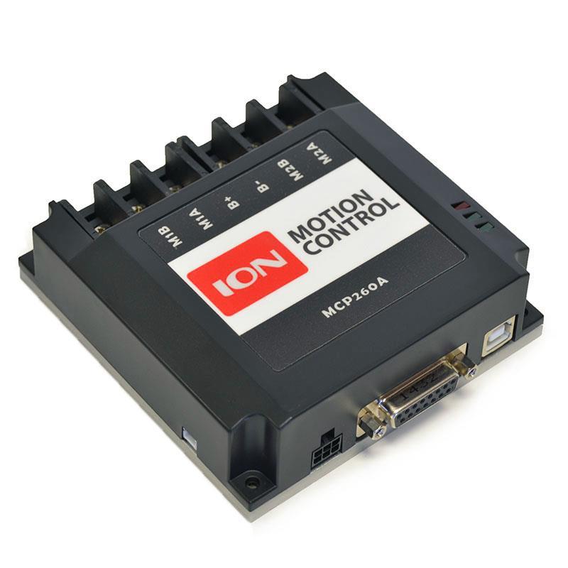 MCP266デュアル60A 60VDC先進モータコントローラ