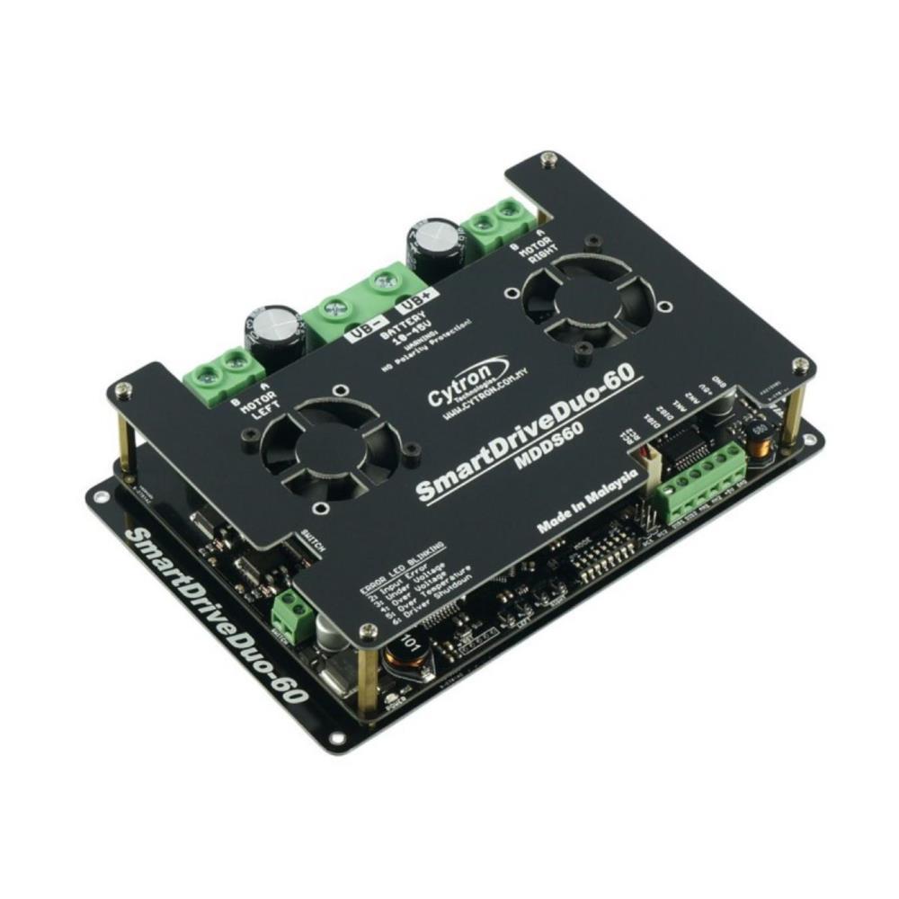Cytron SmartDriveDuoスマートデュアルチャネル60Aモータドライバ