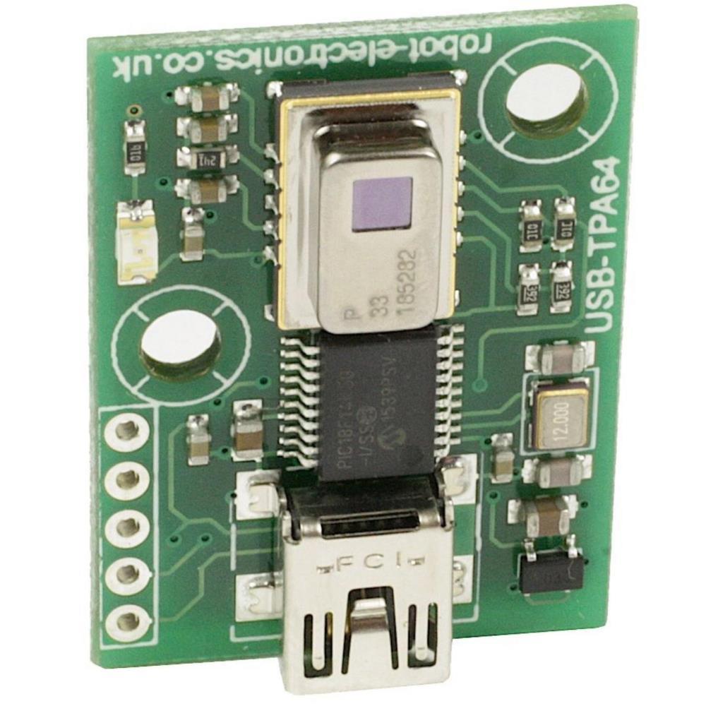 Devantech USB-TPA64 AMG8833サーモパイルアレイ