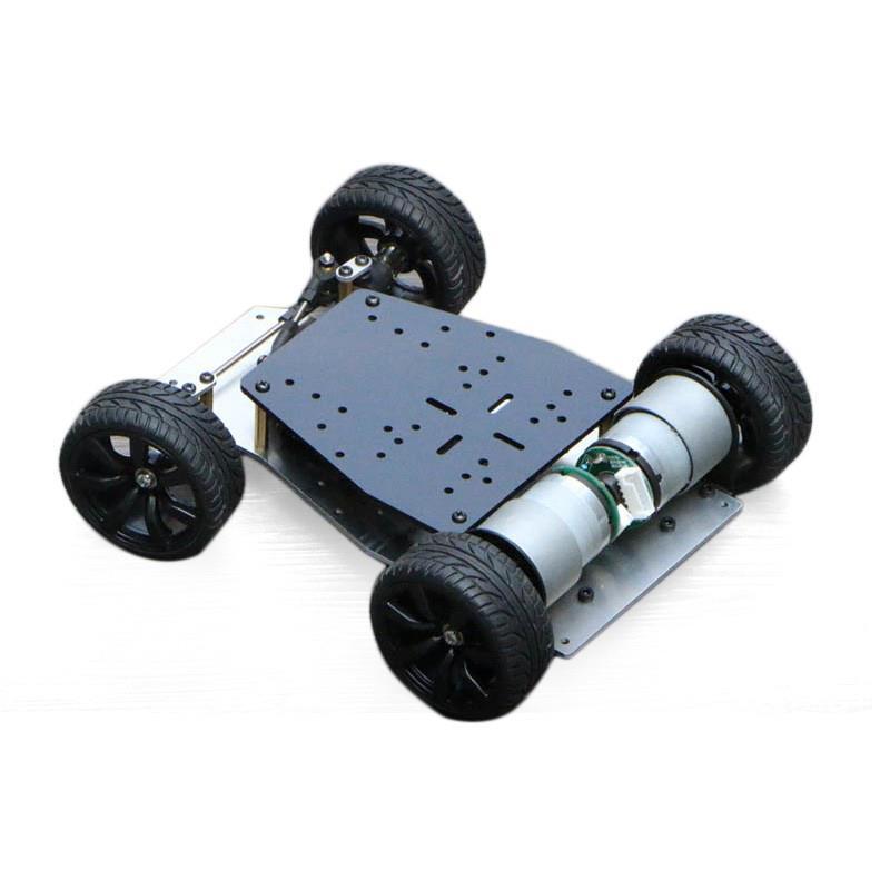 前輪ステアリング搭載スマートカーシャーシ
