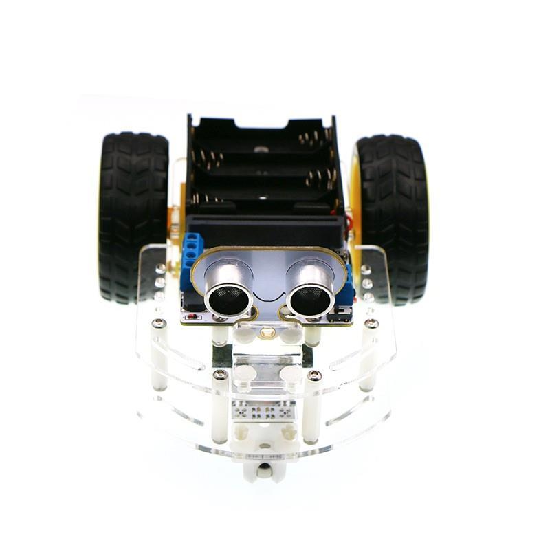 Motor:bit アクリルスマートカーキット(micro:bit ボードなし)