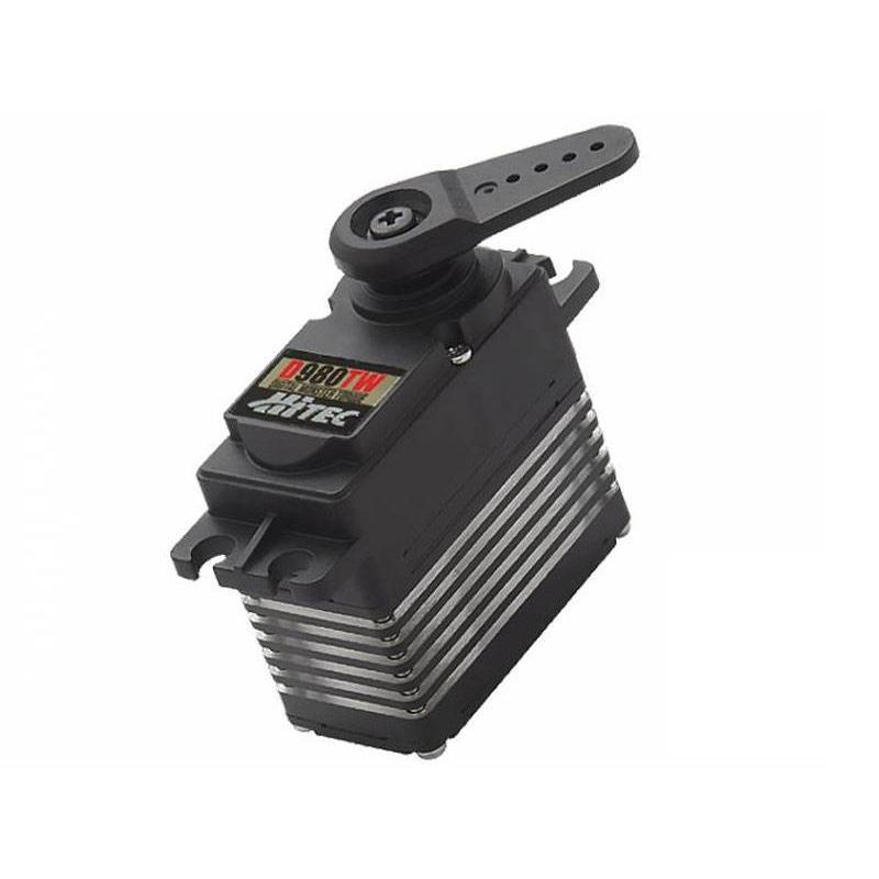 Hitec D980TW 32ビット、超高性能トルク、チタンギアサーボ