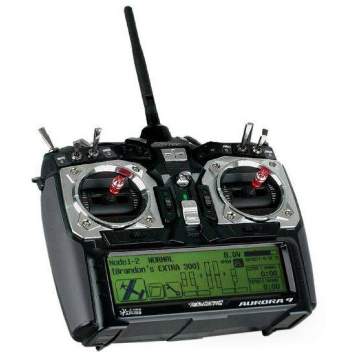 Aurora 9 9チャンネル 2.4GHz 無線