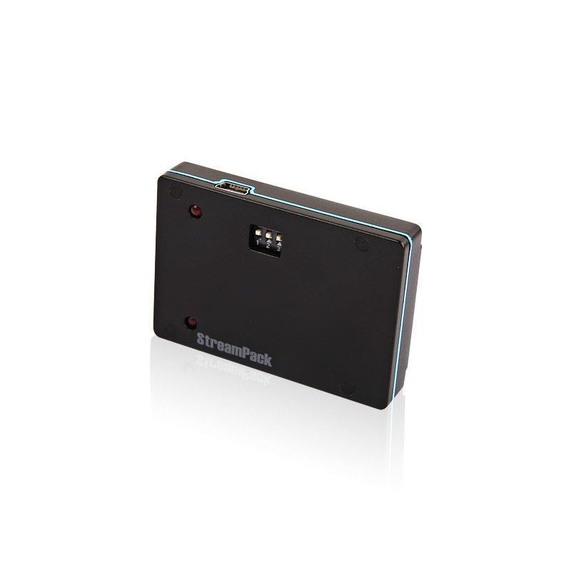 StreamPack GoPro 2-3-4(リアルタイム5.8GHzビデオトランスミッタ付き)