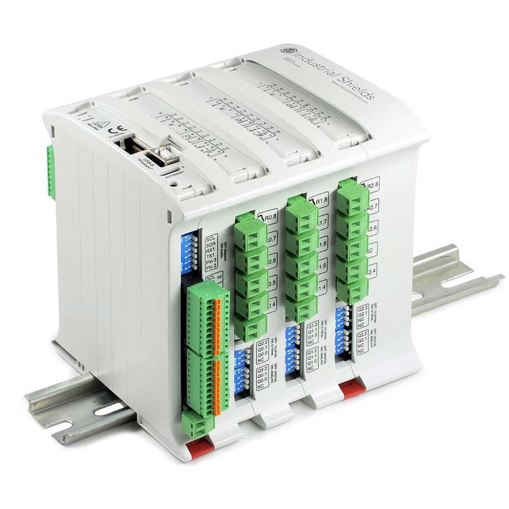 産業用シールド M-DUINO PLC Arduino イーサネット 57R I/O アナログ/デジタル プラス