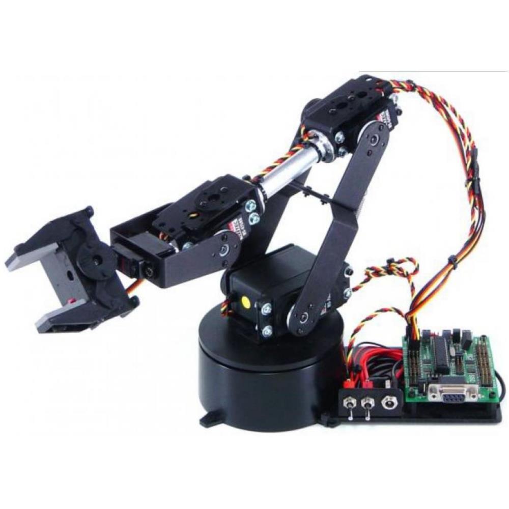 Lynxmotion AL5B 4 自由度ロボティックアーム (ハードウェアのみ)