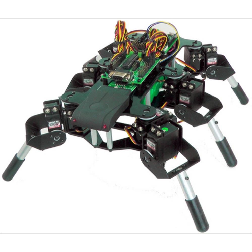 Lynxmotion Mini-HexヘキサポッドキットMH2F(FlowBotics Studio)