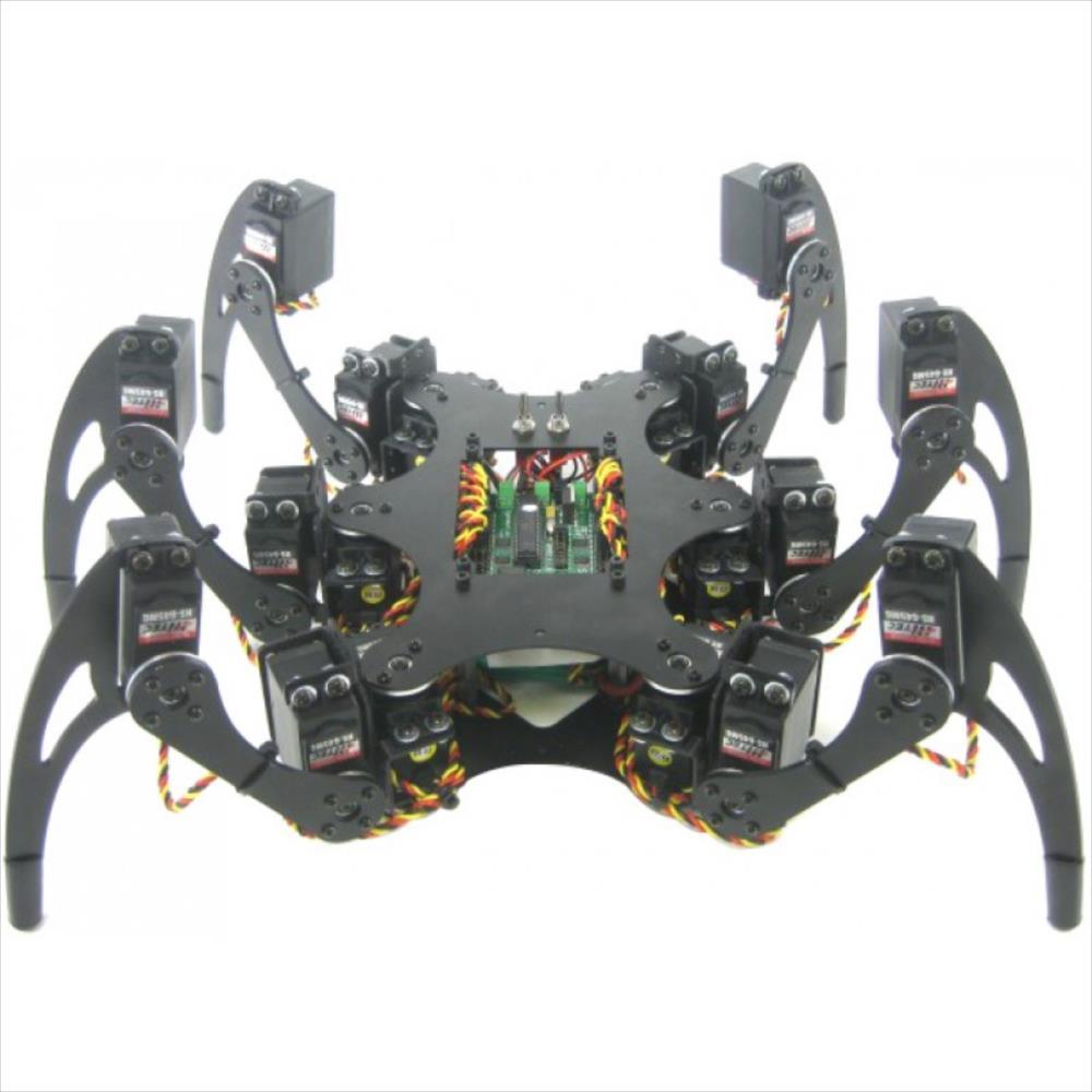 Lynxmotion Phoenix 3DOF ヘキサポッドロボットキット (BotBoarduino)