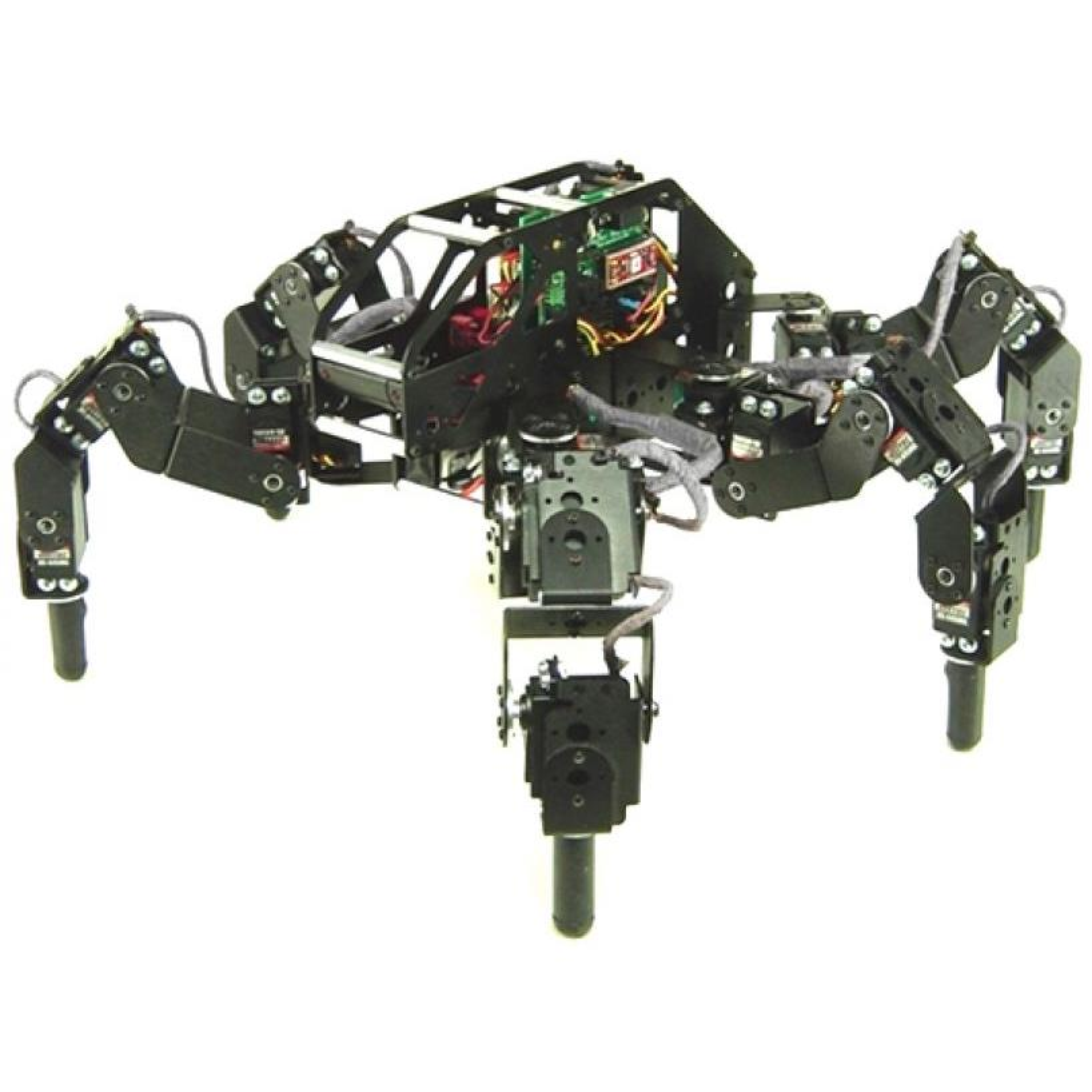 Lynxmotion T-Hex 4DOF ヘキサポッドロボットキット(電子機器なし)