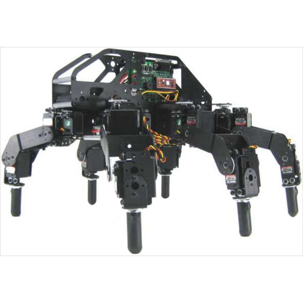 Lynxmotion T-Hex 3DOF ヘキサポッドロボットキット(ハードウェアのみ)