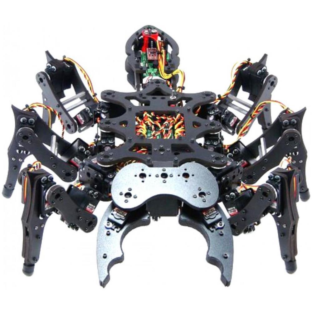 Lynxmotion A-ポッドヘキサポッドロボットキット(ハードウェアのみ)