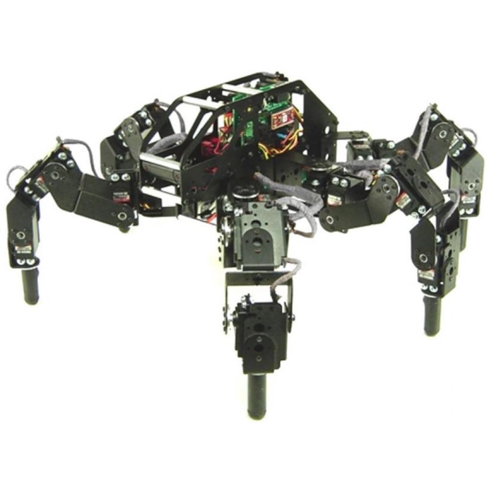 Lynxmotion T-Hex 4DOF ヘキサポッドロボットキット(ハードウェアのみ)