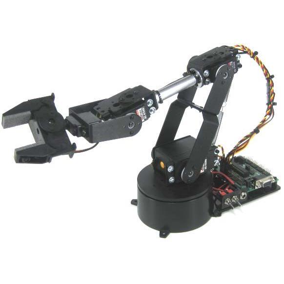Lynxmotion AL5B 4DOFロボットアームSSC-32Uコンボキット(FlowBotics Studio)