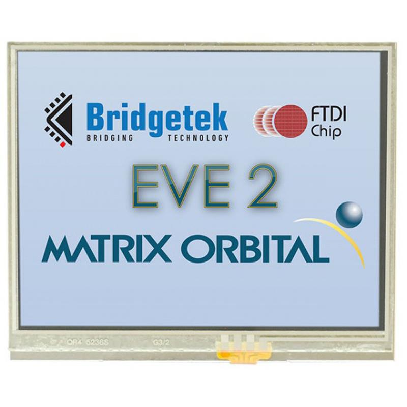 EVE2 3.5インチ TFT 320x240 HMI SPI抵抗タッチスクリーン