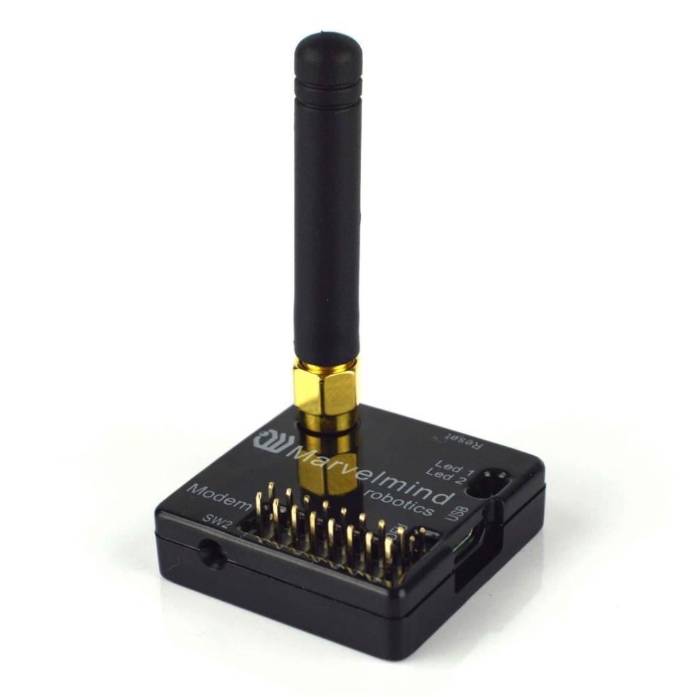 屋内用ナビゲーションポジショニングモデム(ケース付き、433MHz)